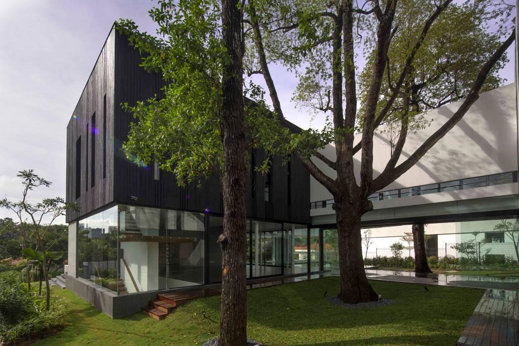 Tembusu House Modern garden by AR43 Architects Pte Ltd Modern