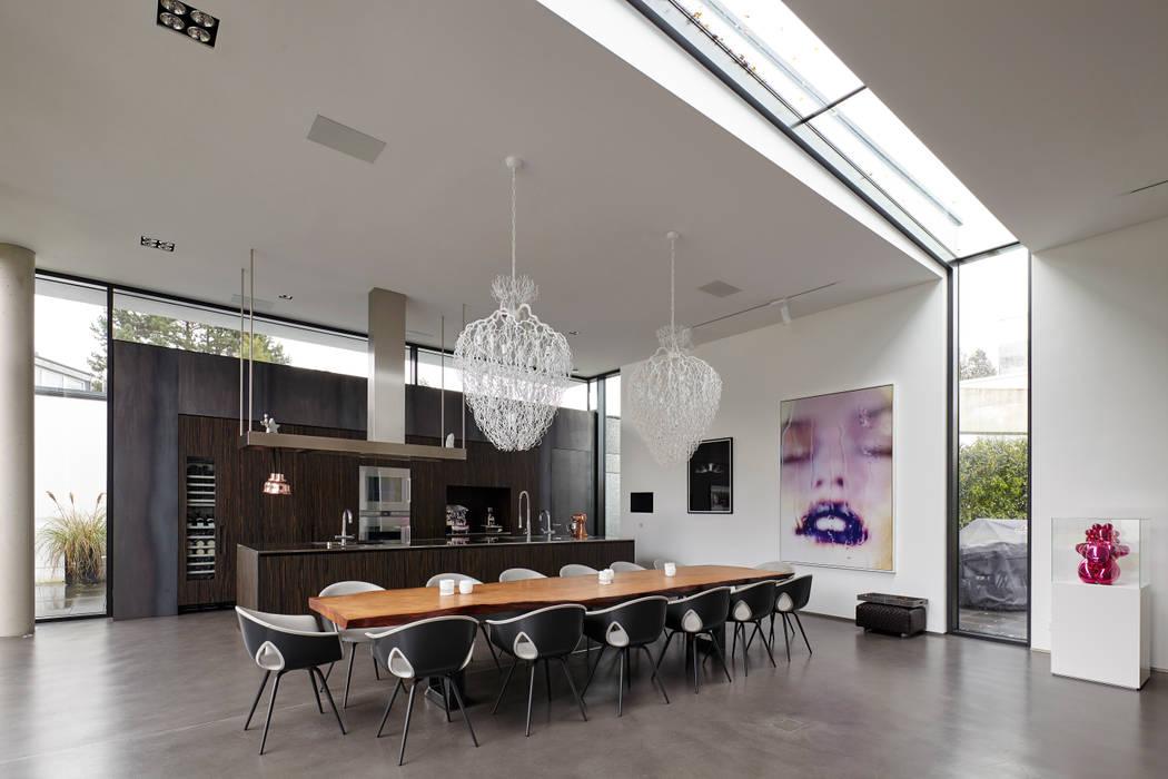 kochen und essen f r viele g ste esszimmer von lioba. Black Bedroom Furniture Sets. Home Design Ideas