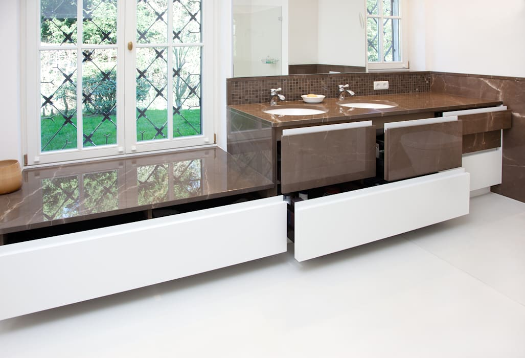 Bad in sanierter villa bad godesberg minimalistische badezimmer