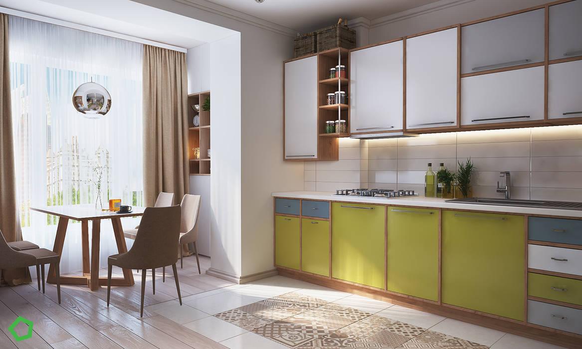 Kitchen by Polygon arch&des