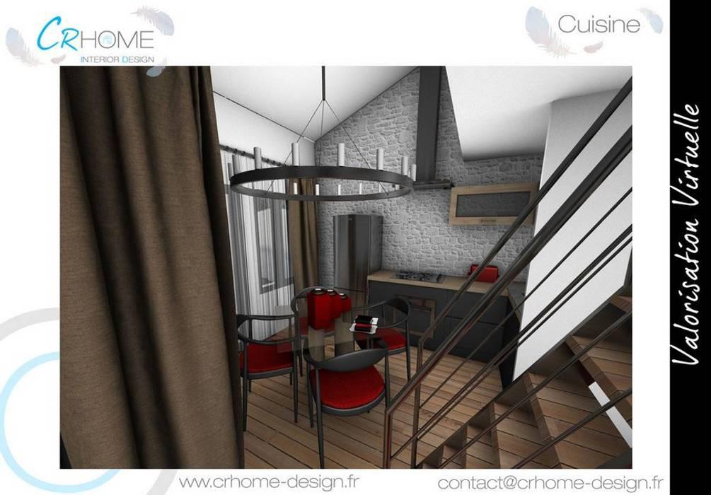 Cuisine - Salle à manger: Cuisine de style de style Moderne par Crhome Design