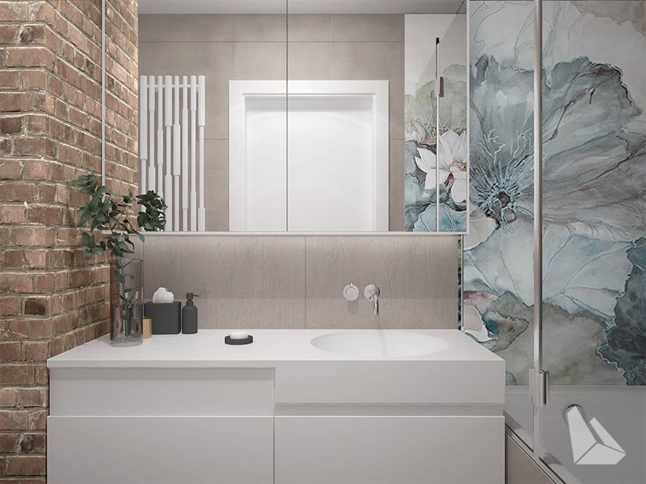 łazienka Styl Eklektyczny Styl W Kategorii łazienka