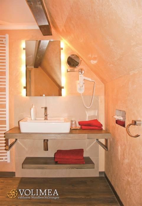Kleines bad als private wellness oase: badezimmer von volimea gmbh ...