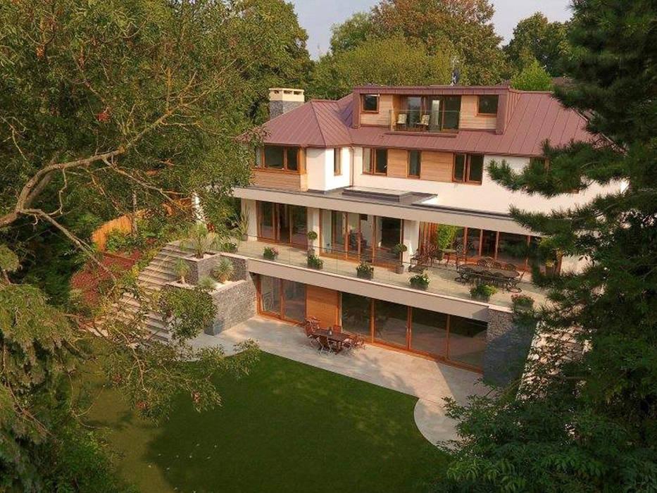 New Build 6 Bedroom House in Wimbledon van Andrew Harper Architects