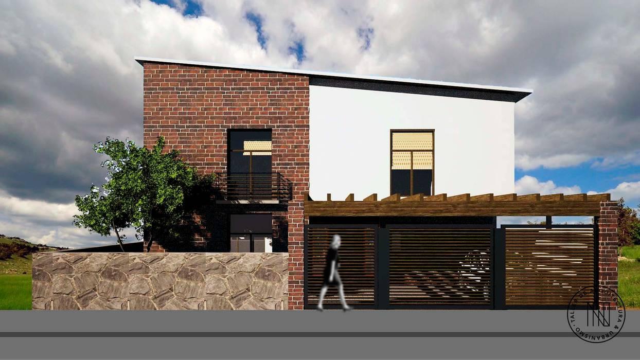 Casa CLEBE: Casas de estilo  por Taro Arquitectos