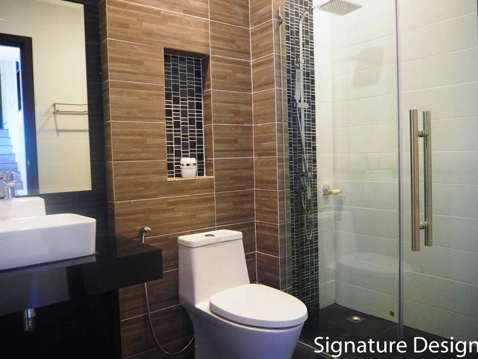 ห้องน้ำ:  ห้องน้ำ by SignatureDesign