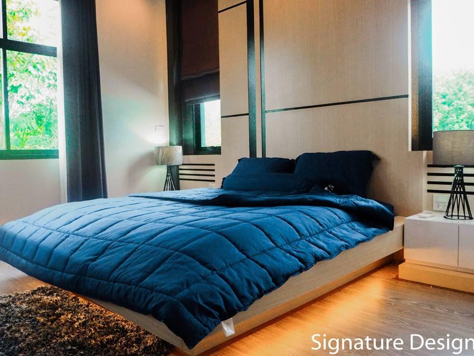 ห้องนอน:  ห้องนอน by SignatureDesign