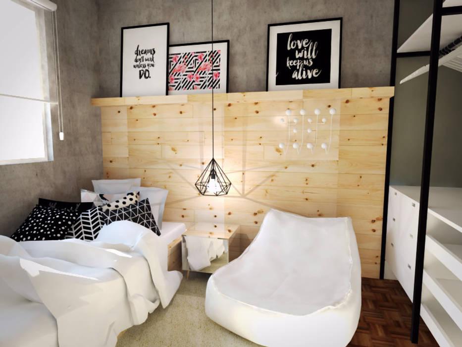 Bedroom by Andressa Cobucci Estúdio