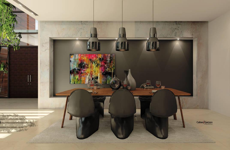 Comedores modernos de Cabas/Garzon Arquitectos Moderno