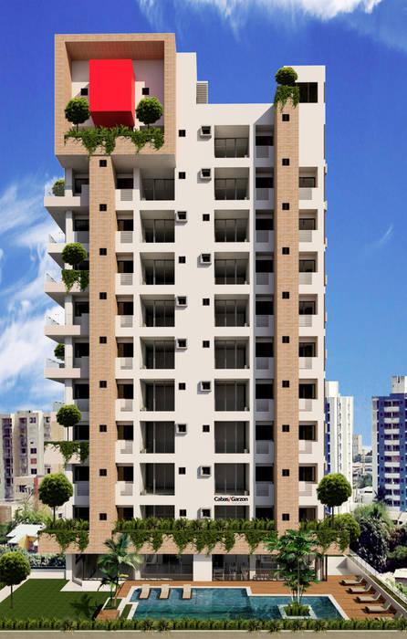Modern houses by Cabas/Garzon Arquitectos Modern