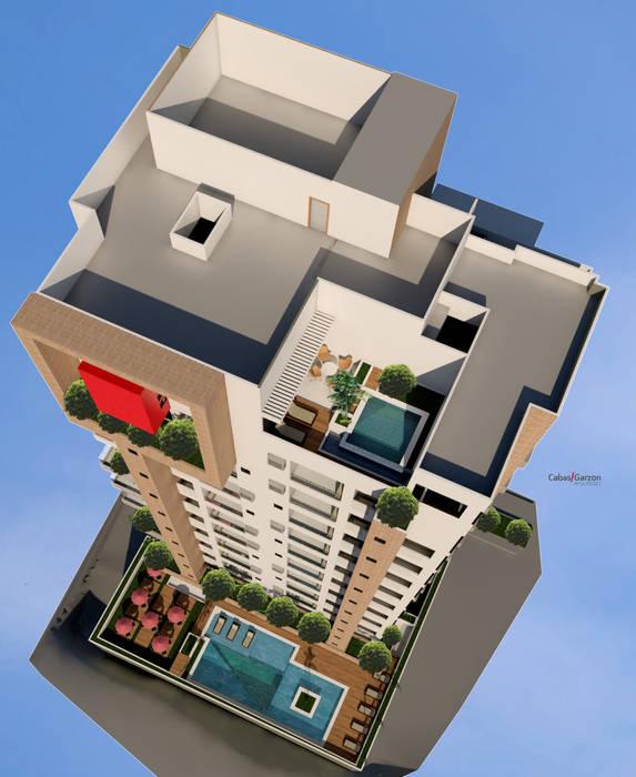 Casas estilo moderno: ideas, arquitectura e imágenes de Cabas/Garzon Arquitectos Moderno