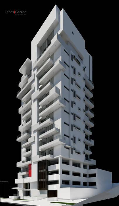 Case moderne di Cabas/Garzon Arquitectos Moderno