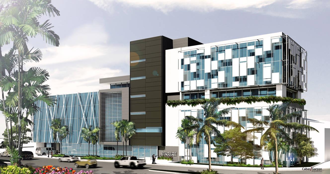 modern  door Cabas/Garzon Arquitectos, Modern