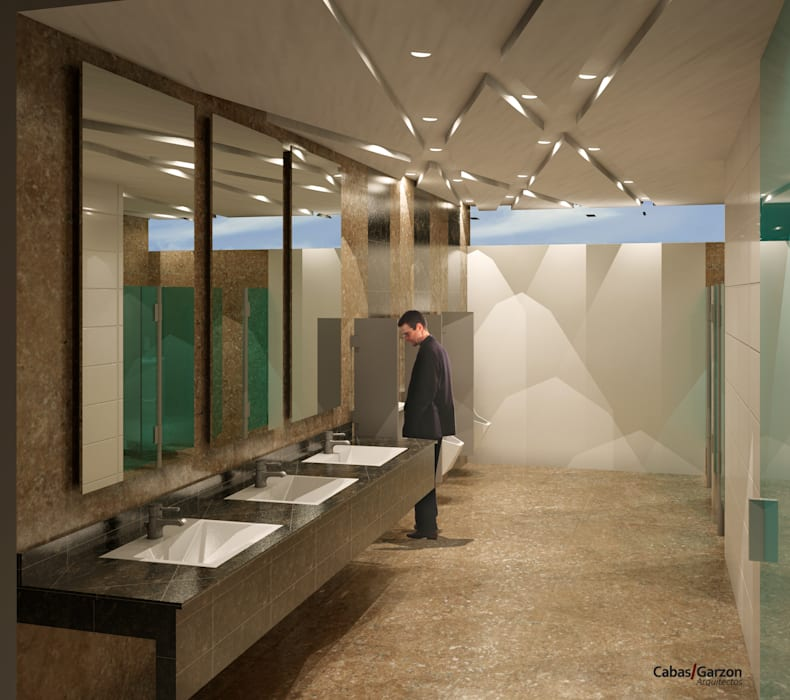 Salle de bain moderne par Cabas/Garzon Arquitectos Moderne