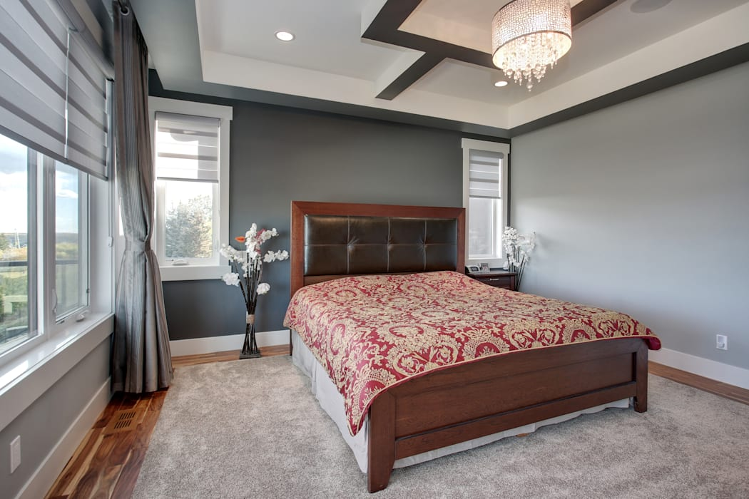 Private Residence Modern style bedroom by Sonata Design Modern