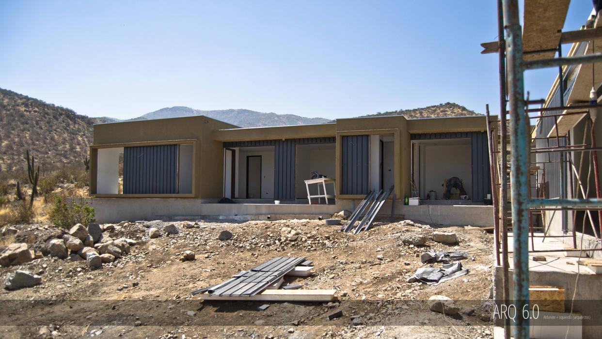Casa Sotomayor: Casas de estilo  por Arq6.0