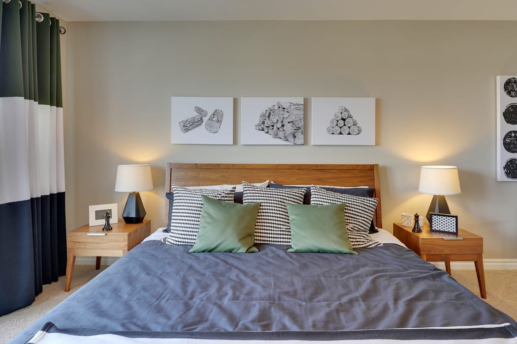 Bedroom by Sonata Design, Modern