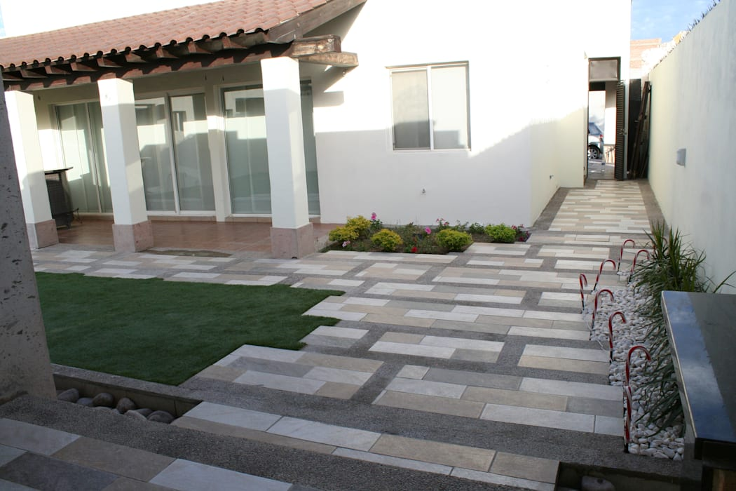diseño de pisos Jardines modernos de Daniel Teyechea, Arquitectura & Construccion Moderno