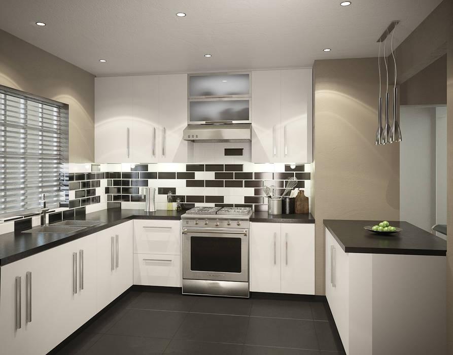 Residential French Lane Modern kitchen by HEID Interior Design Modern Granite
