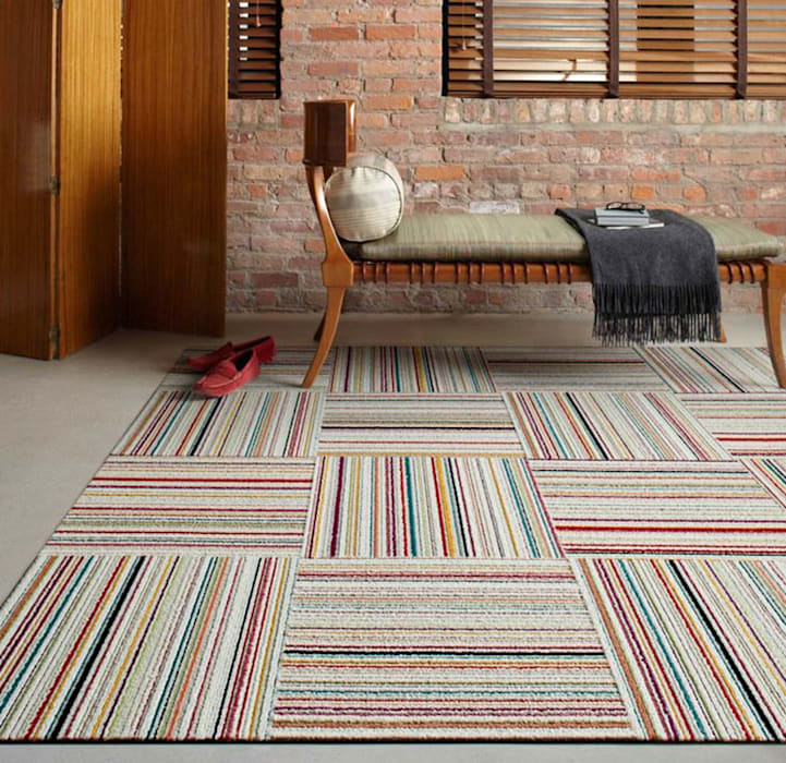 Amazing Design with Carpet Tiles: industrial  by Industasia, Industrial