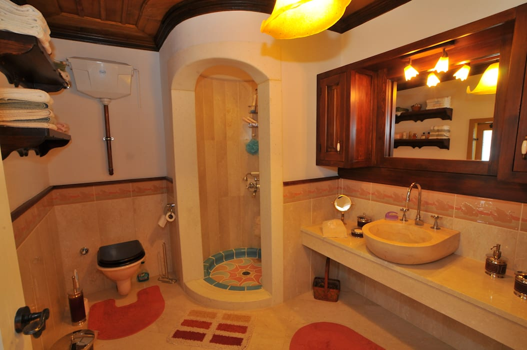 Ванные комнаты в . Автор – homify, Средиземноморский