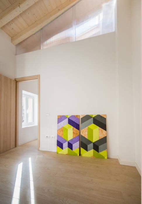 STUDIO : Studio in stile in stile Scandinavo di PADIGLIONE B