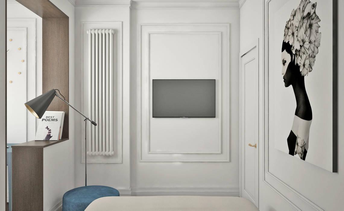 Dormitorios eclécticos de Ирина Рожкова - частный дизайнер интерьера Ecléctico