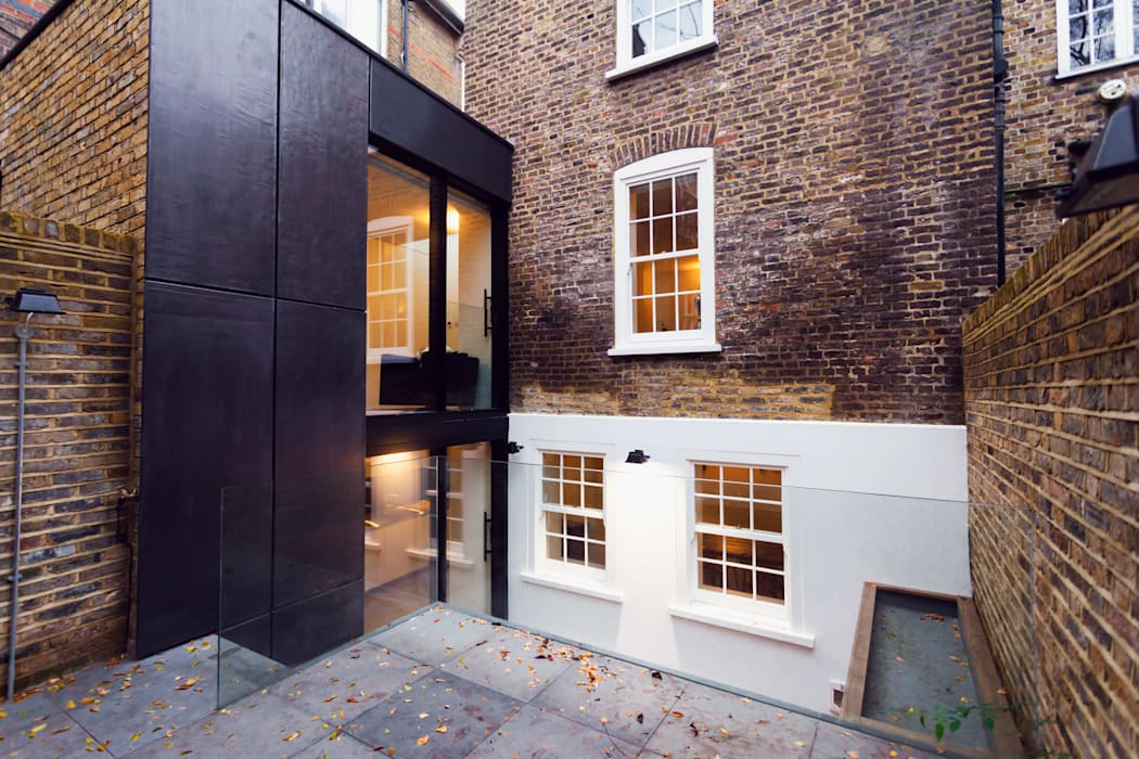 Extension & House Renovation SW18 - London Modern houses by Diamond Constructions Ltd Modern