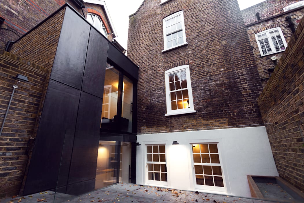 Extension & House Renovation SW18 - London Modern houses by Diamond Constructions Ltd Modern