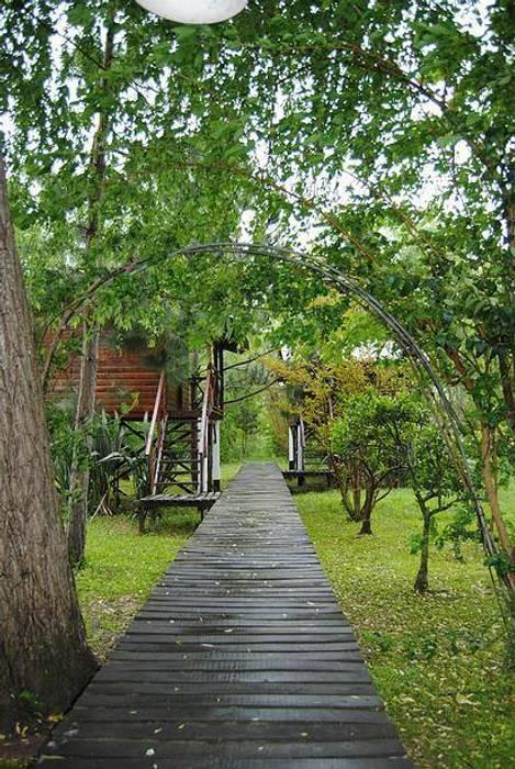 Maisons rustiques par Carpintería y Decoración La Cucha Rustique