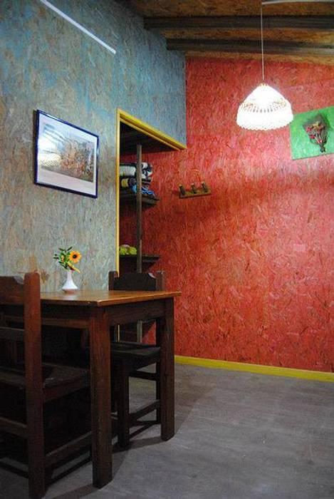 Salle à manger rustique par Carpintería y Decoración La Cucha Rustique