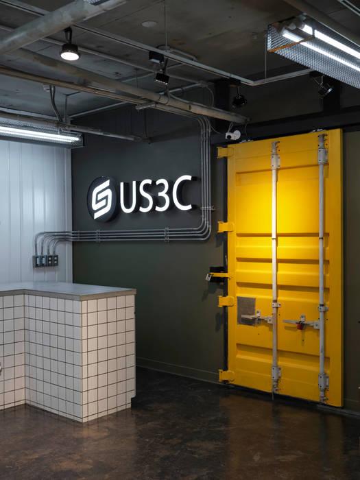 US3C優勢科技-二手3C賣場 設計:  會議中心 by 光島室內設計
