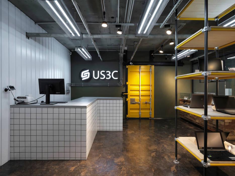 US3C優勢科技-二手3C賣場 設計 光島室內設計 展覽中心