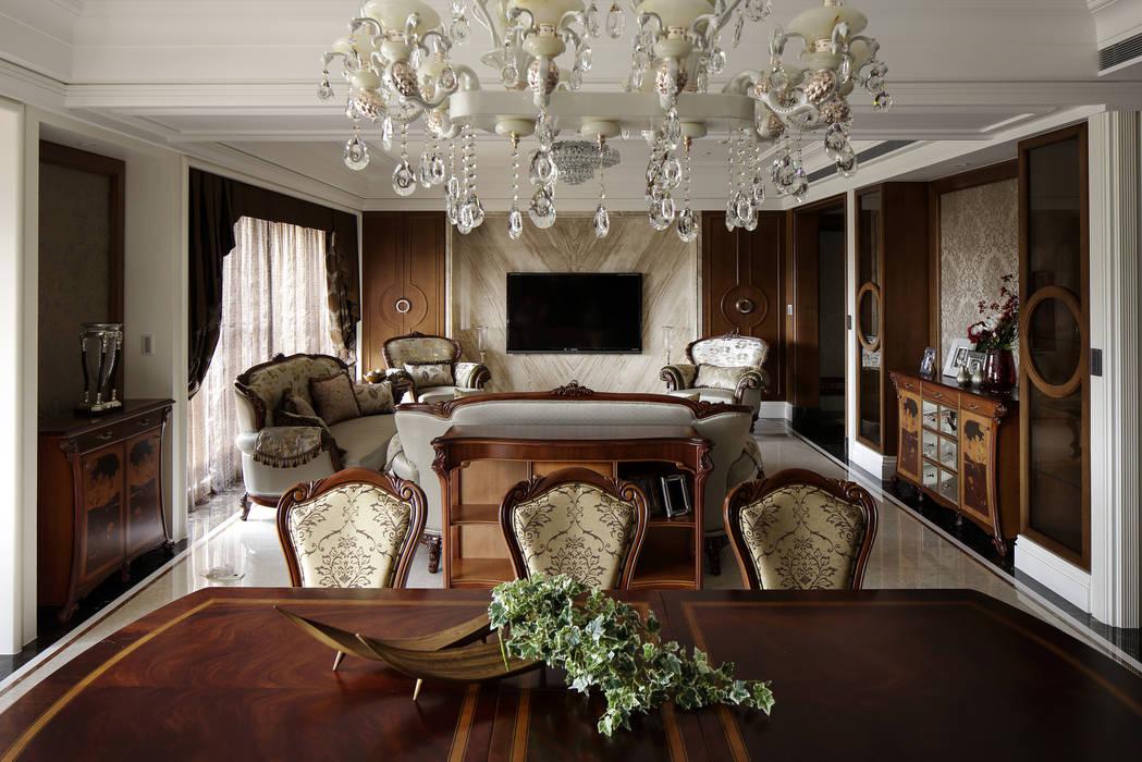 尋找古典的本質 根據 大荷室內裝修設計工程有限公司 古典風