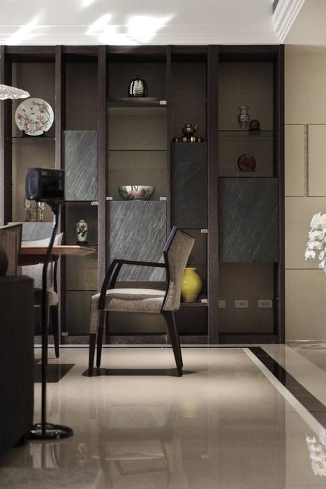 家是記憶的河:  餐廳 by 大荷室內裝修設計工程有限公司