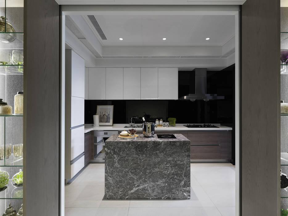 浪漫的歸屬 大荷室內裝修設計工程有限公司 Kitchen