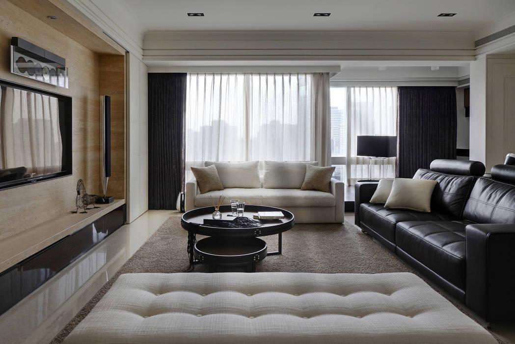 時尚精品宅 大荷室內裝修設計工程有限公司 Living room