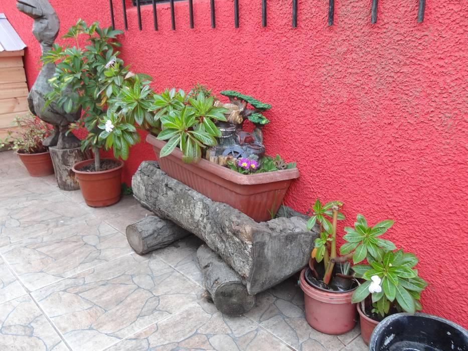Mobiliarios Reciclados: Jardines de estilo  por Feng Shui y Arquitectura