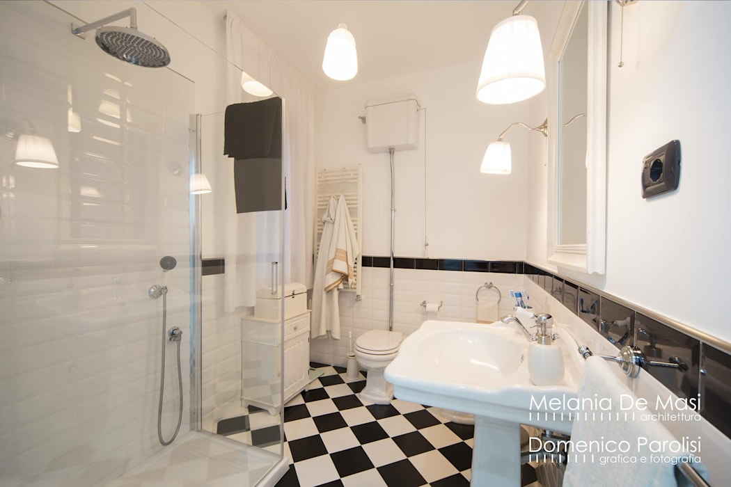 Classic style bathroom by melania de masi architetto Classic