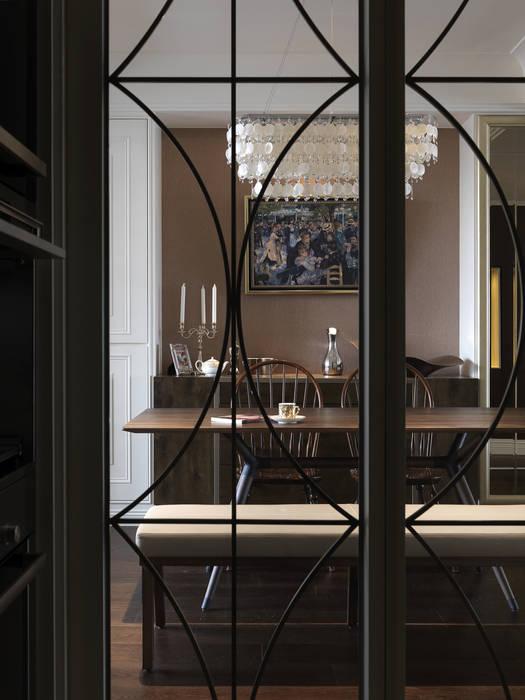 家的風景:  廚房 by 大荷室內裝修設計工程有限公司