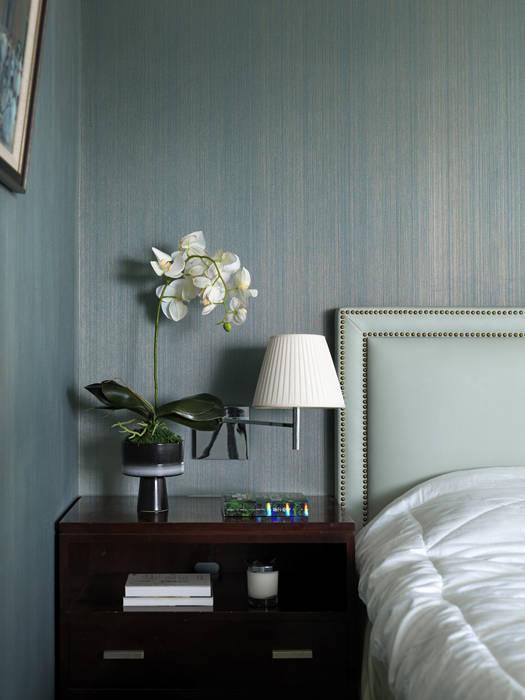 家的風景:  臥室 by 大荷室內裝修設計工程有限公司