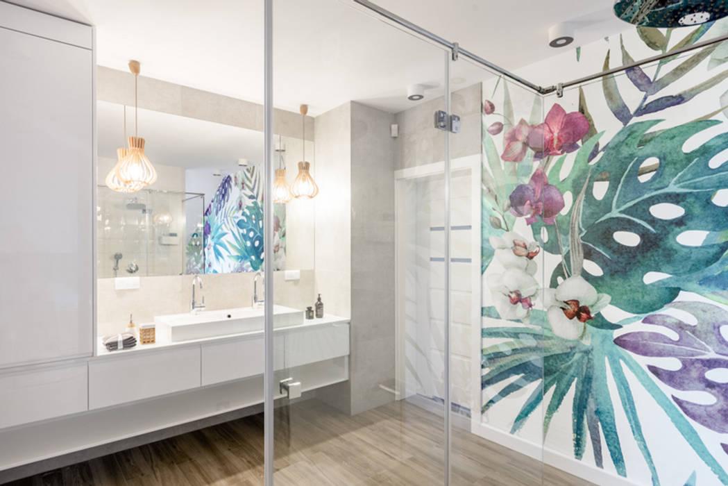 Ванная комната в стиле модерн от Pracownia Projektowania Wnętrz Karolina Czapla Модерн