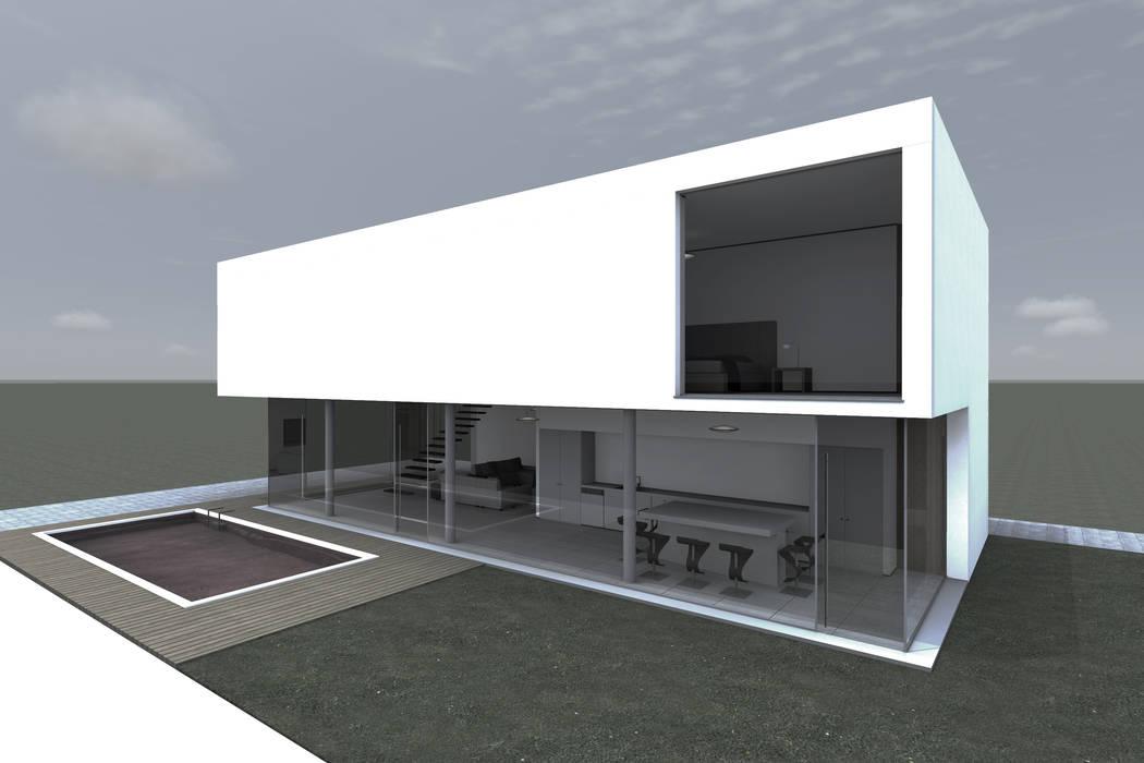 Maisons de style  par PLURALLINES - Ideias, Projectos e Gestão Lda