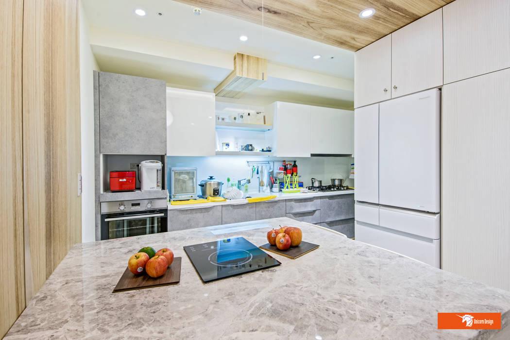 餐桌與廚房 根據 Unicorn Design 隨意取材風