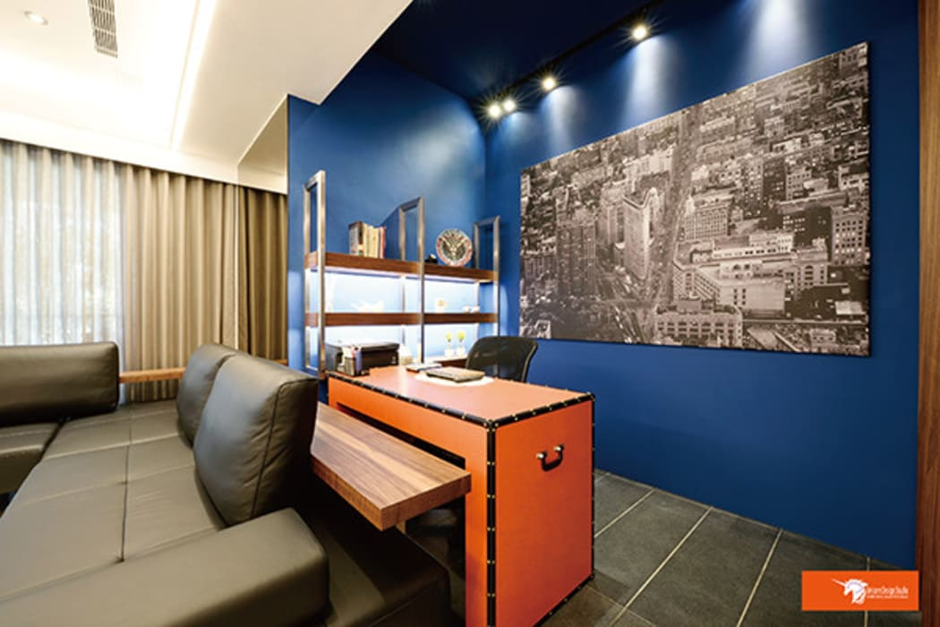 Study/office by Unicorn Design, Eclectic