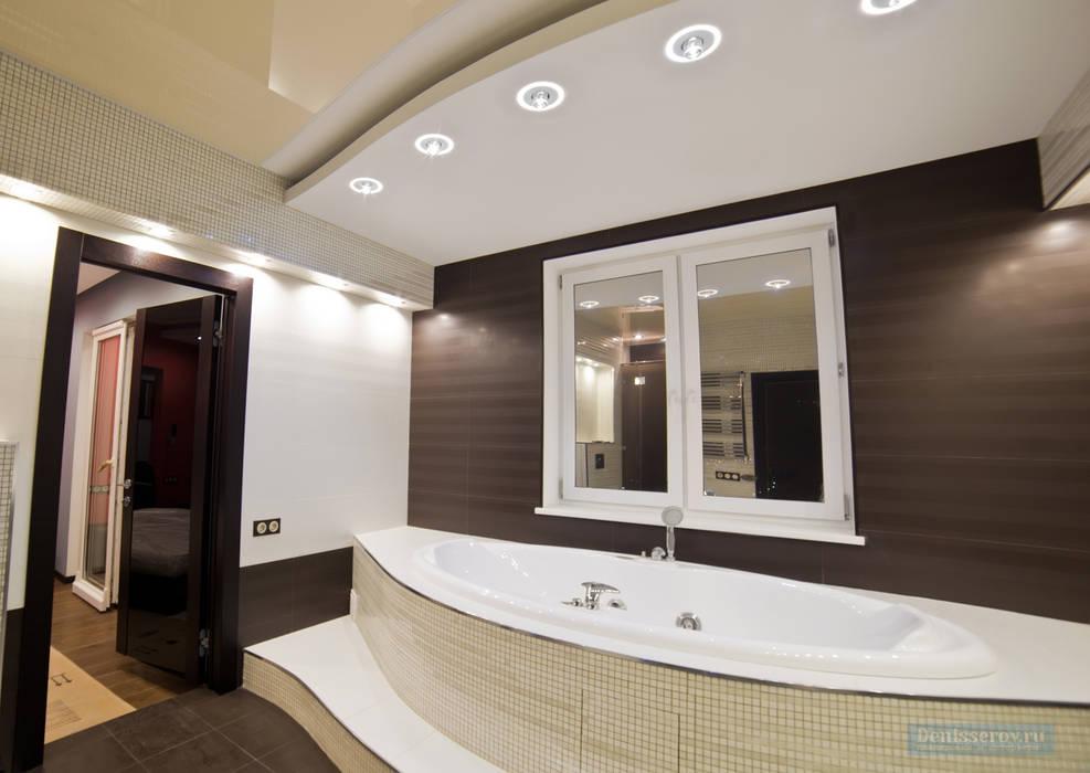 Modern bathroom by Студия интерьера Дениса Серова Modern