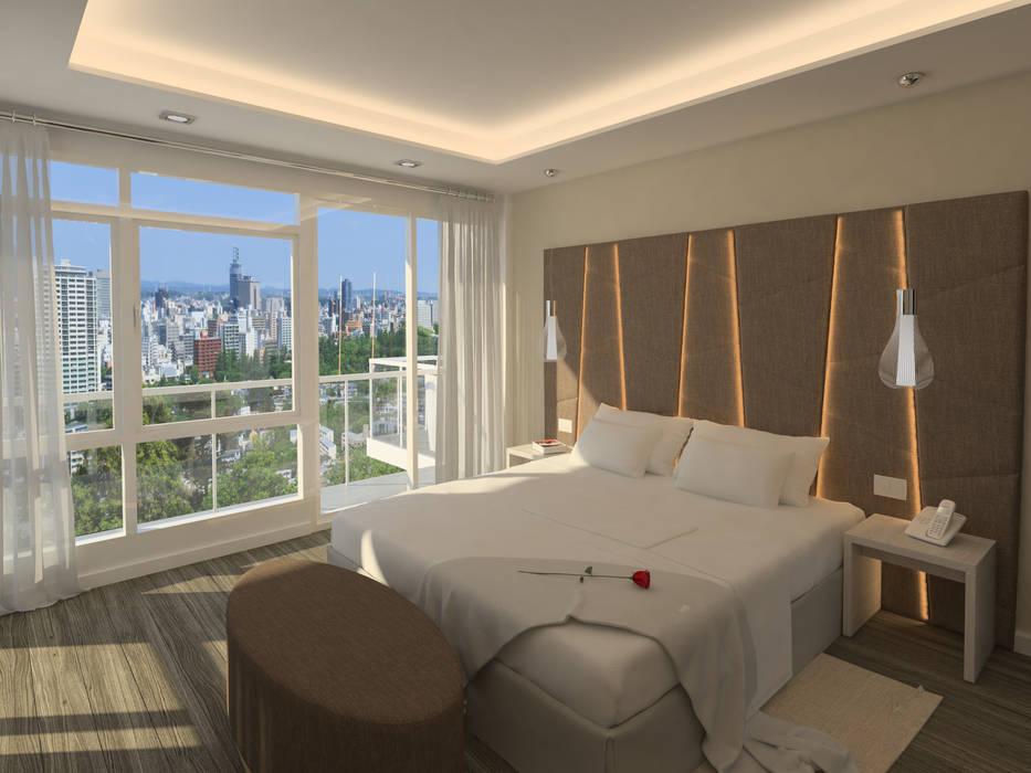 Apartamento Kikambala Dormitorio de BELTÁ & FRAJUMAR Moderno