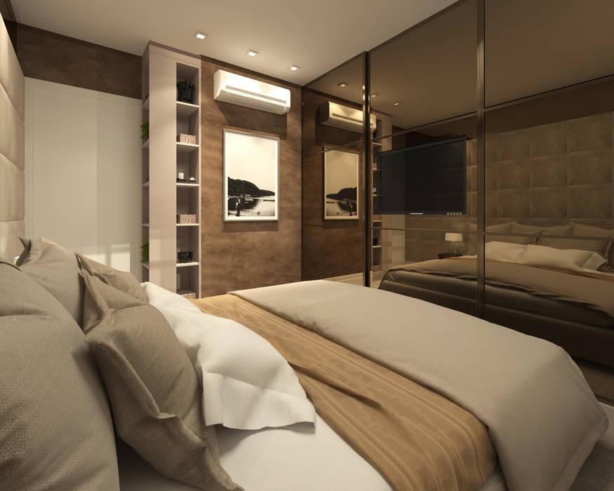 Modern Bedroom by Marina Ortiz - mo arquitetura Modern