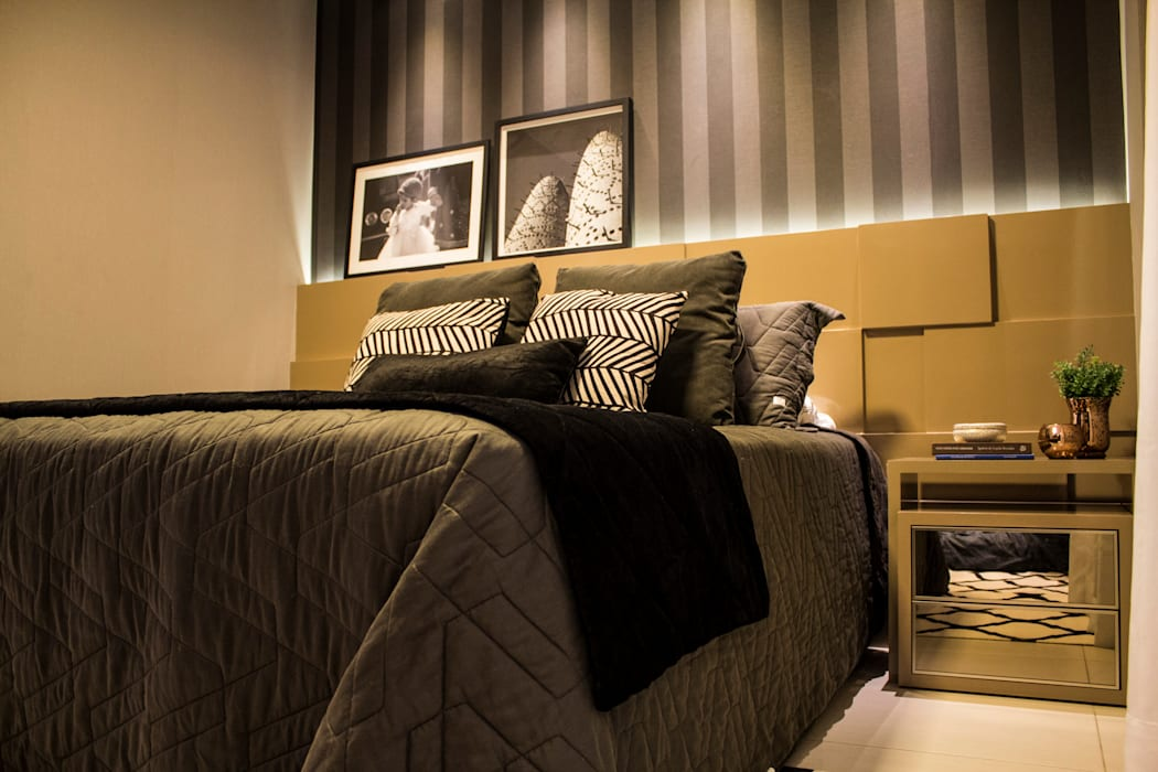 Bedroom by homify, Modern MDF