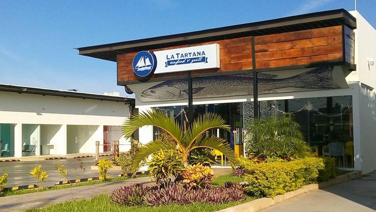 LOCALES: Estudios y oficinas de estilo industrial por CA ARQUITECTURA